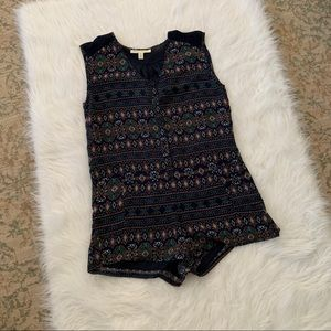 Staring at Stars patterned romper with pockets